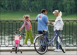 Отдых на велосипеде в Москве