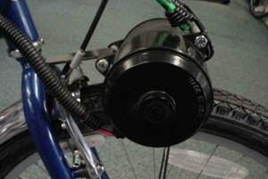 Электромотор на байке