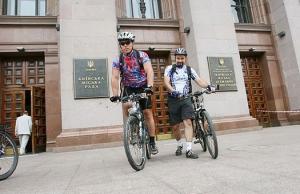 Велосипедисты Киева