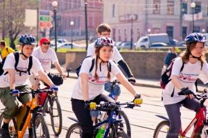Велосипедисты Нижнего Новгорода