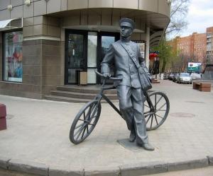 Памятник в Нижнем Новгороде