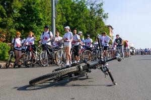 Велопробег в Нижнем Новгороде
