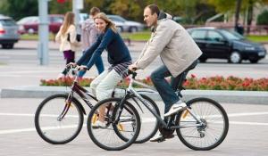 Велосипедисты Минска
