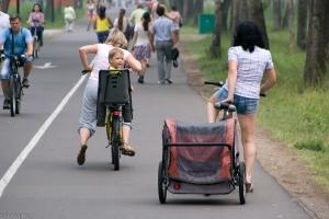 Велосипедисты Красноярска