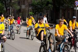 Велопробег в Ростове-на-Дону