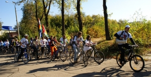 Велопробег в Самаре