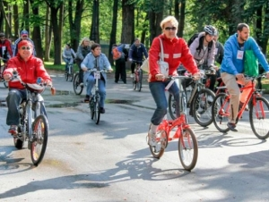 Велосипедисты Самары