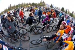 Велосипедисты Уфы