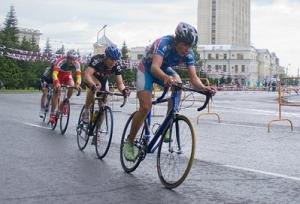 Велосипедисты Омска