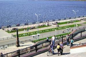 Отдых на велосипеде в Ижевске