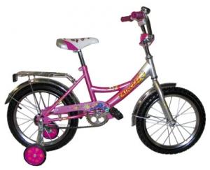 Розовый велосипед для девочек