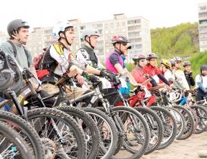 Велосипедисты Днепропетровска