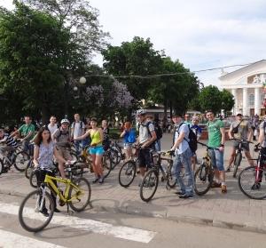 Велосипедисты Кирова