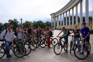 Велосипедисты Алматы