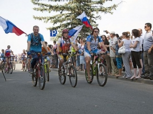 Велосипедисты Ставрополя