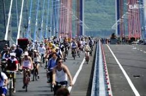 Велосипедисты Владивостока