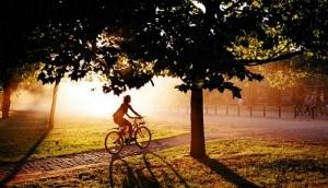 Обучаемся езде на велосипеде в дали от суеты