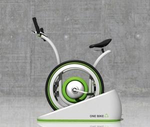 Современный велотренажер