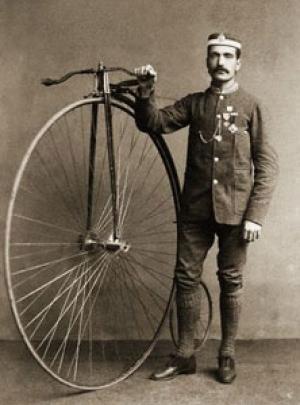 Изобретение велосипеда