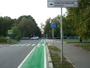 Велодорожка в России
