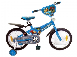 Детский велосипед со съемными колесами