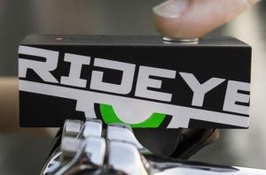 Регистратор Rideye на велосипеде