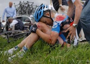 Травмы в велоспорте