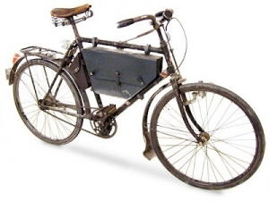 Модель армейского велосипеда