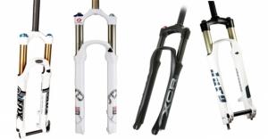 Амортизационная вилка для велосипеда