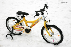 Детская модель велосипеда