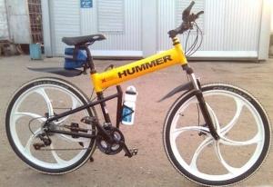 Скоростной современный велосипед