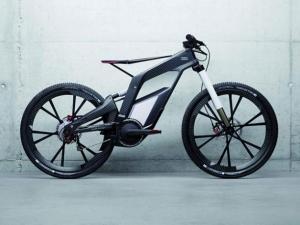 Скоростной велосипед - гибрид