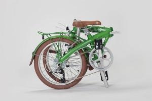 Велосипед Shulz в сложенном виде