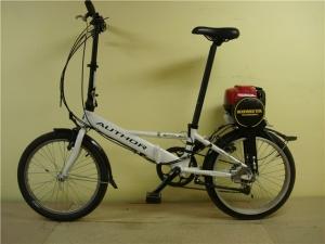 Велосипед на бензиновом двигателе