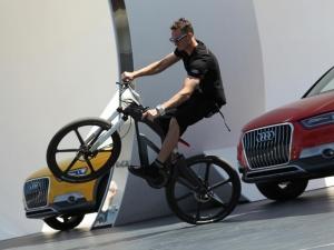 Велосипед Audi e-bike