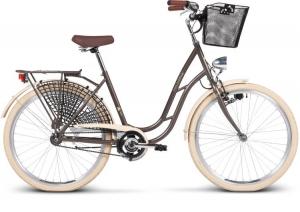 Городской велосипед с женской рамой