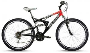 Китайский велосипед-двухподвес