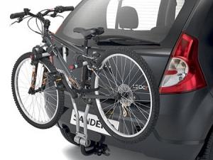 Велосипед на фаркопе