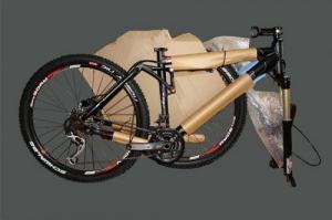 Упакованный велосипед