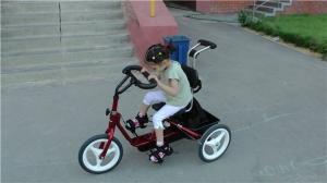 Велосипеды для детей, больных ДЦП