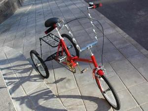 Самодельный трехколесный велосипед