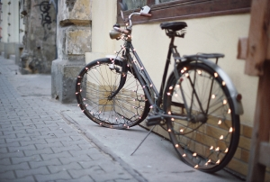 Украшение велосипеда