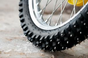 Зимняя резина на велосипед