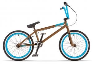 BMX голубого цвета