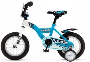 Голубой велосипед для мальчика