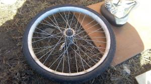 Разбор заднего колеса