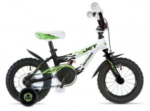 Зеленый детский велосипед