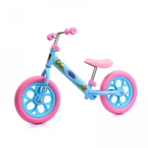 Розово-голубой велосипед
