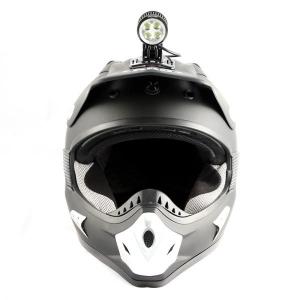 Велосипедная фара на шлеме