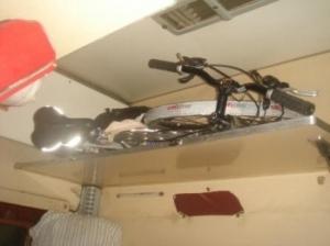 Велосипед в поезде